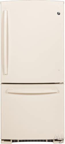 GE GBE20ETECC 20.3 cu. ft. Bottom-Freezer Refrigerator with 3 Adjustable Glass Shelves, 2 Gallon, U.S. & Canada GBE20ETECC