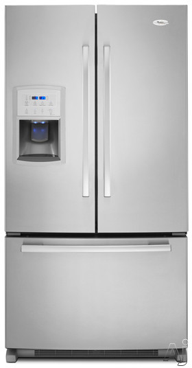 Whirlpool Gold GI0FSAXVY 19.8 cu. ft. Counter-Depth French Door Refrigerator with Slide-Out, U.S. & Canada GI0FSAXVY