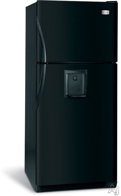 Frigidaire Glht188whb 18 3 Cu Ft Freestanding Top Freezer Refrigerator With Water Through The
