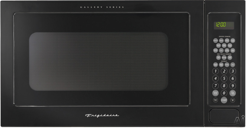 Frigidaire Gallery Series GLMB209DB 2.0 cu. ft. Built-In Microwave Oven with 1200 Watts and 11 Power Levels: Black-on-Black