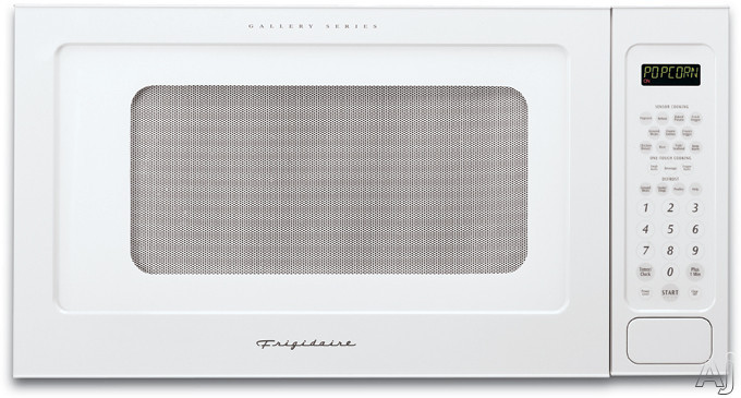 Frigidaire Gallery Series GLMB209DS 2.0 cu. ft. Built-In Microwave Oven with 1200 Watts and 11 Power Levels: White-on-White