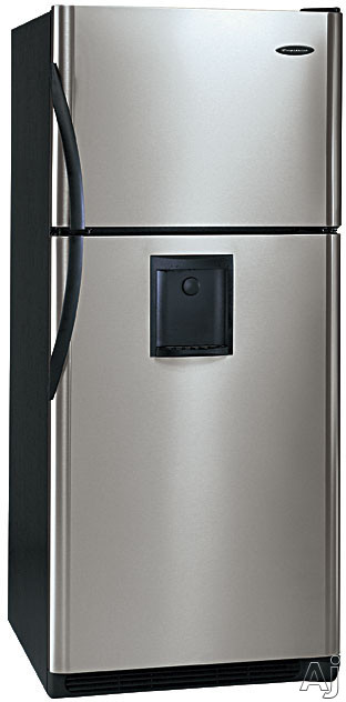 Frigidaire Glrt188wds 18 3 Cu Ft Top Freezer Refrigerator With Front Mounted Water Dispenser
