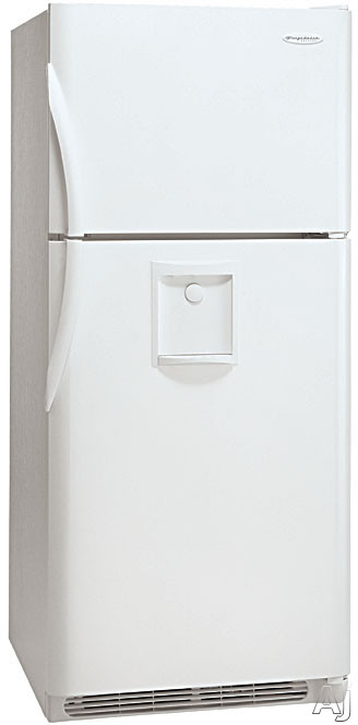 Frigidaire Glrt188wdw 18 3 Cu Ft Freestanding Top Freezer Refrigerator With Front Mounted