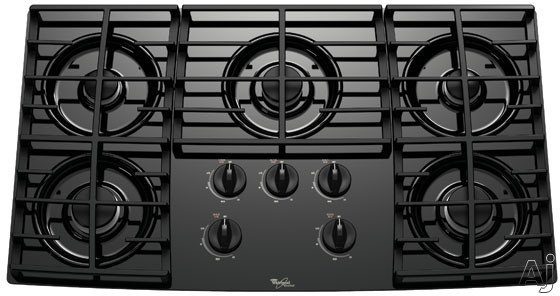 Whirlpool Gold Cooktop Parts ~ Whirlpool glt rb quot sealed burner gas cooktop with