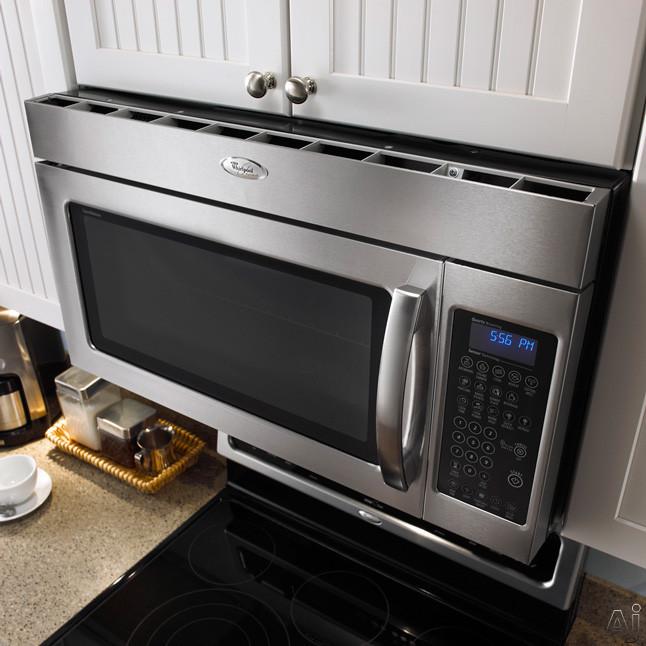 Whirlpool Gmh5184xv 1 8 Cu Ft Over The Range Microwave