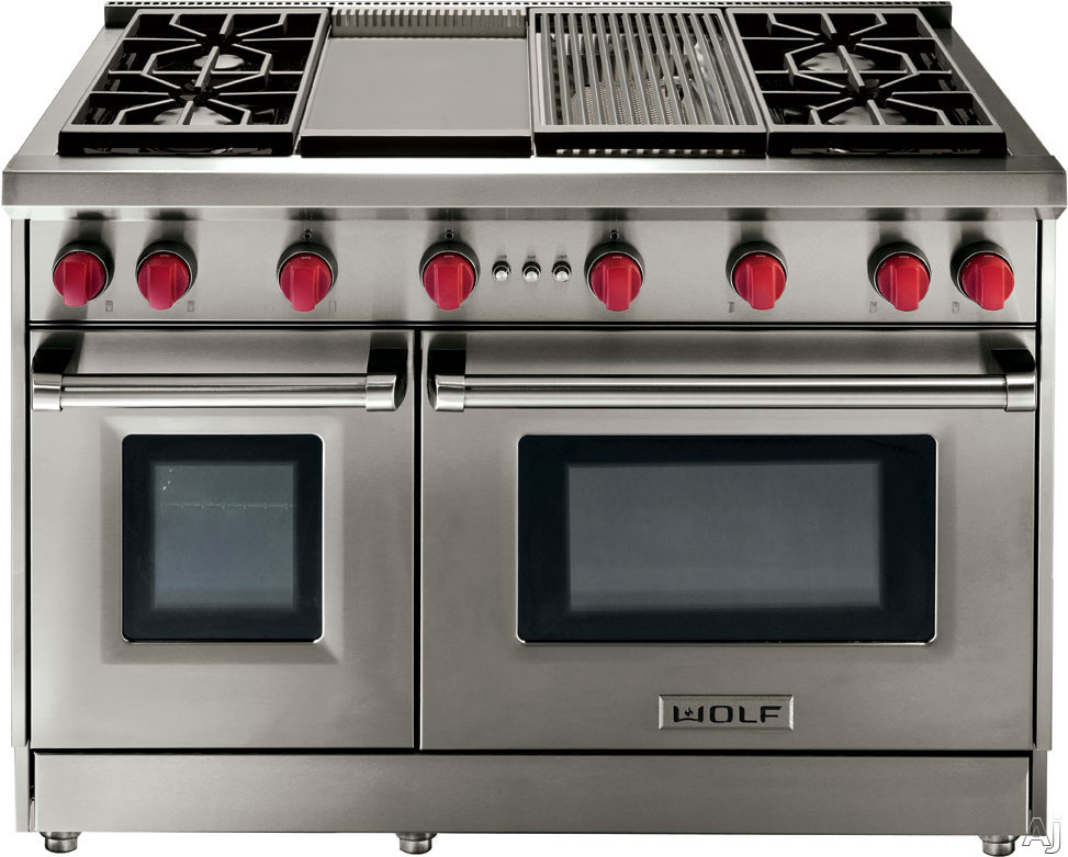 Wolf GR486GX 48 Inch Pro Style Gas Range with 6 Dual
