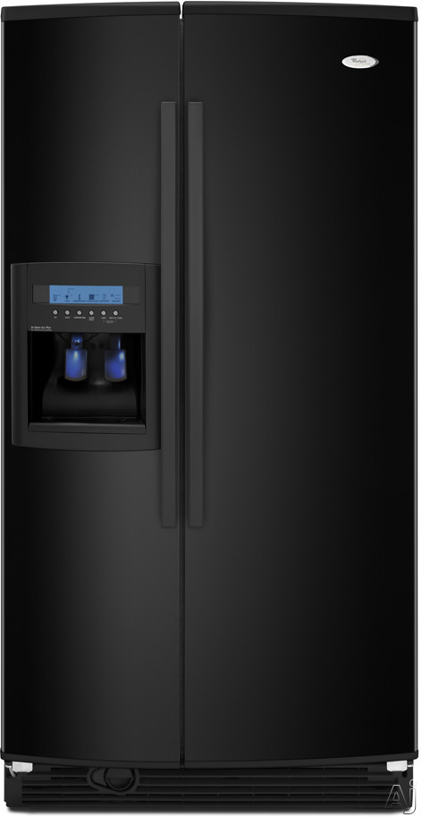 Whirlpool Gs5dhaxvb 25 6 Cu Ft Side By Side Refrigerator