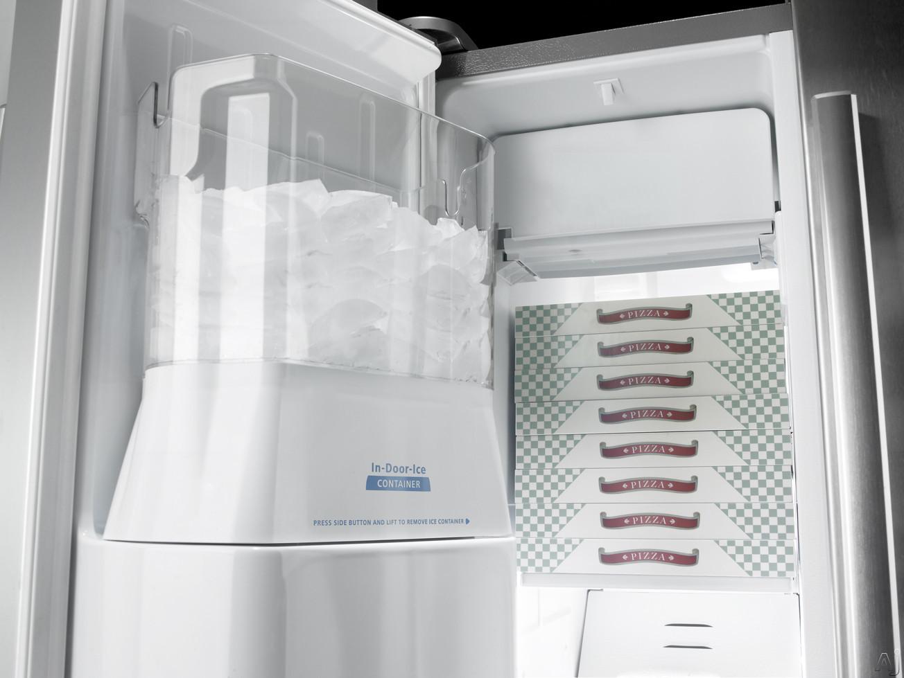 Whirlpool Gs6nhaxvs 25 6 Cu Ft Side By Side Refrigerator