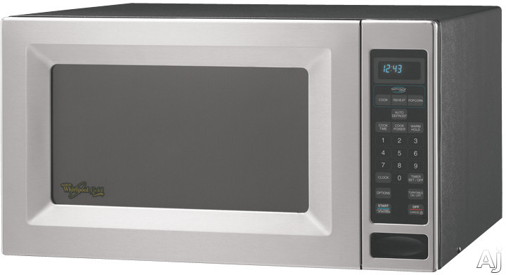 Whirlpool Gt4185sks 1 8 Cu Ft Countertop Microwave Oven