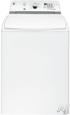 """GE GTWN7450DWW 28"""" Top Load Washer with 4.6 cu. ft. Capacity, 13 Wash Cycles, 6 Water Temperatures, U.S. & Canada GTWN7450DWW"""