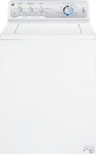 """GE GTWP2000FWW 27"""" Top-Load Washer with 3.7 cu. ft. Capacity, 13 Wash Cycles, 630 RPM Spin Speed, 4, U.S. & Canada GTWP2000FWW"""