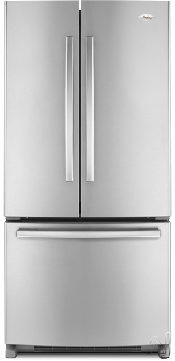 Whirlpool Gold GX2FHDXV 22 cu. ft. French Door Refrigerator with 4 Adjustable SpillProof Shelves, U.S. & Canada GX2FHDXV