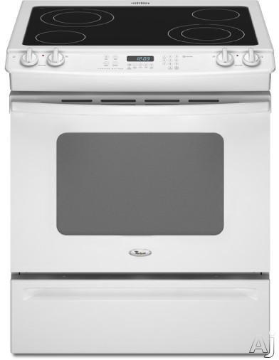 "Whirlpool Gold GY397LXUQ 30"" Slide-in Electric Range with Self-Clean, AccuBake System and Ceramic, U.S. & Canada GY397LXUQ"