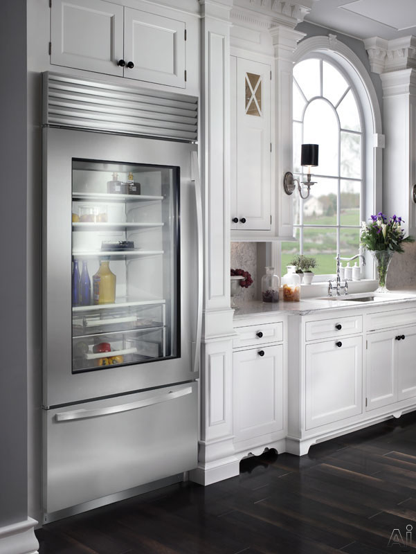 Sub Zero Bi36ug 36 Built In Bottom Freezer Refrigerator
