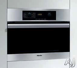 "Miele Classic Design H4044BM 24"" Speed Oven with 1,000 Watts Microwave, True European Convection, U.S. & Canada H4044BM"