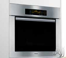 "Miele Classic Design H4884BPSS 30"" Single Electric Wall Oven with True European Convection, 17, U.S. & Canada H4884BPSS"