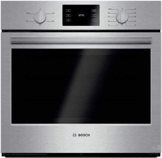 Bosch 500 Series Hbl5351uc 30 Inch Single Electric Wall Oven With Eco Clean, Bread Proofing, Heavy-duty Metal Knobs, 4.6 Cu. Ft. Oven, Kitchen Timer And Star-k Certified
