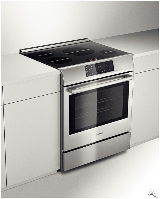 Bosch Hiip054u 30 Inch Slide In Induction Range With 4