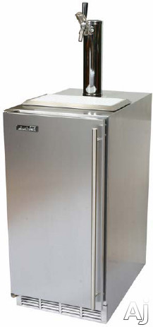 "Perlick Signature Series HP15TS1L 15"" Beer Dispenser with 1 / 6 Pony Keg Capacity, Whisper Quiet, U.S. & Canada HP15TS1L"