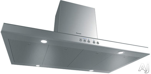 Inline Blower Range Hood : Thermador hpin hs low profile island mount chimney range