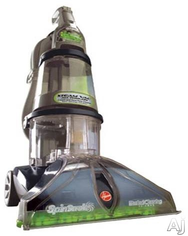 Hoover SteamVac Series F7452900 All Terrain Steam Vacuum Cleaner with 12 Amp Motor, Heated Cleaning, U.S. & Canada F7452900