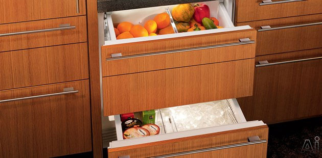 Sub Zero Id30c 30 Quot Integrated Double Drawer Refrigerator