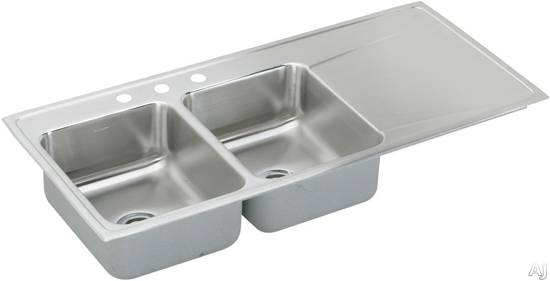 Stainless Steel Sinks With Drainboards : Home > Sinks & Faucets > Sinks > Stainless Steel > ILR4822L