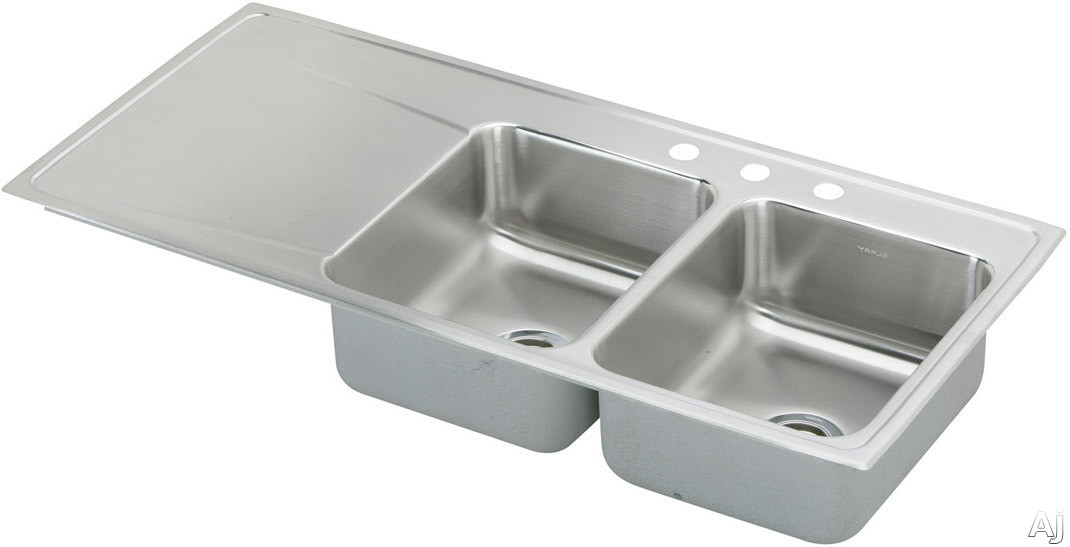 Stainless Steel Sinks With Drainboards : Home > Sinks & Faucets > Sinks > Stainless Steel > ILR4822R