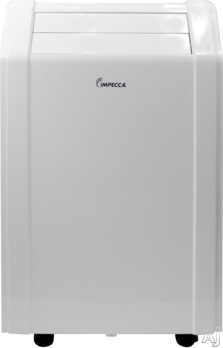 Impecca IPAC10KS 10,000 BTU Portable Air Conditioner with 8.9 EER, R-410A Refrigerant, 450 sq. ft., U.S. & Canada IPAC10KS