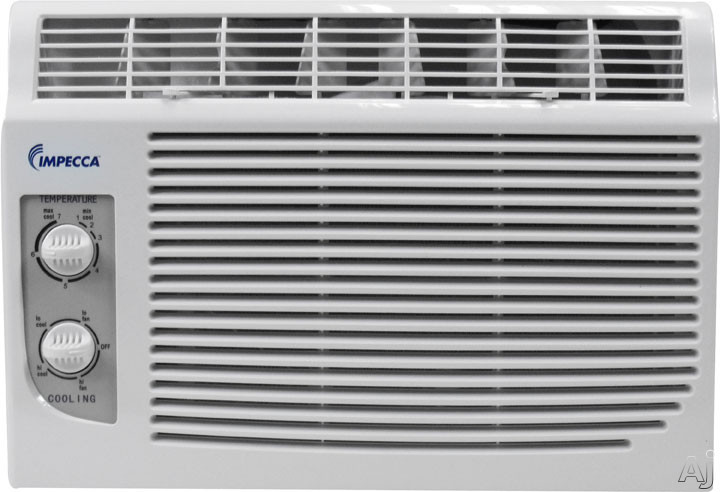 Impecca IWA05KM 5,000 BTU Window Air Conditioner with 9.7 EER, R-410A Refrigerant, 150 sq. ft., U.S. & Canada IWA05KM