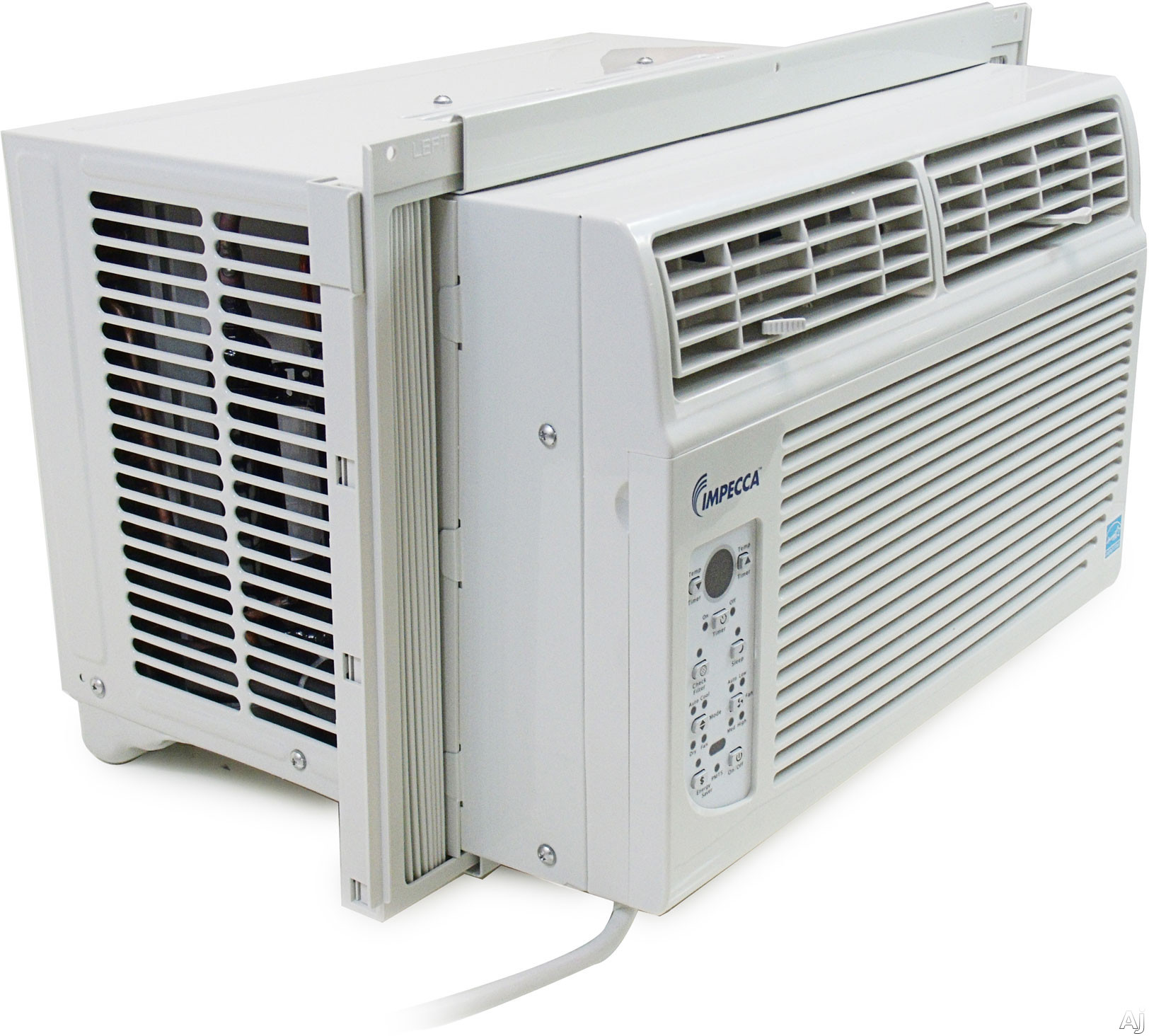 Impecca IWA10KSFP 10 000 BTU Window Air Conditioner with 10.8 EER R  #484F5B