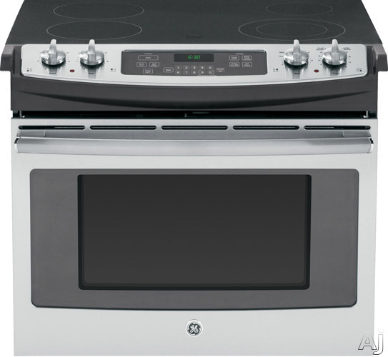 GE JD630 30 Inch Drop-in Electric Range with Dual Element Bake, Power Broil, Self-Clean, 4 Smoothtop Elements, 4.4 cu. ft. Oven, ADA Compliant and Star-K Certified Sabbath Mode