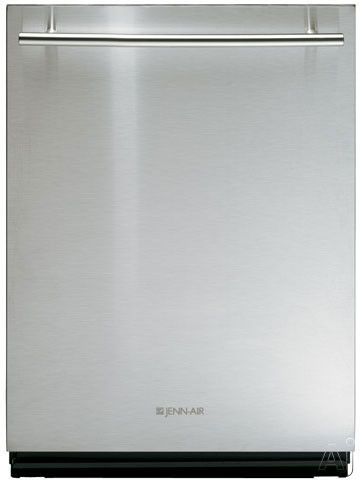 Dishwashers - Jenn-Air JDB1095AWS Fully Integrated Dishwasher With 12 Wash Cycle/Options 2-Rack SteamClean Silent Pack 2500 Sound-Silencing System And 5-Level/7-Tier UltraC