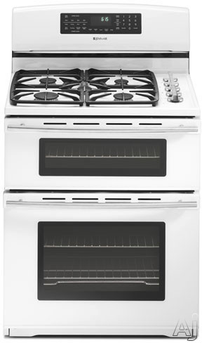 Jenn Air Jdr8895baw 30 Quot Freestanding Dual Fuel Double Oven