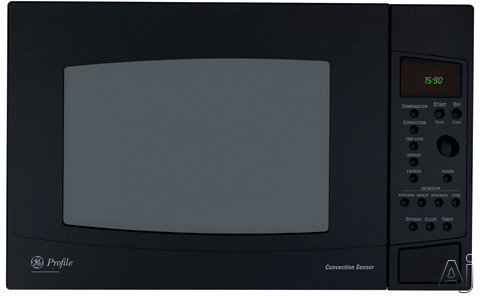 GE PEB2060 Profile 2 0 cu ft 1200 watt Countertop Microwave Oven