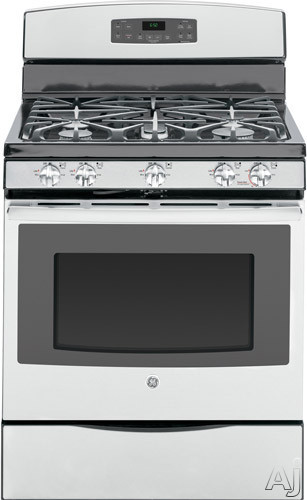 Ge jgb650sefss 30 freestanding gas range with 5 sealed for 17000 btu window air conditioner