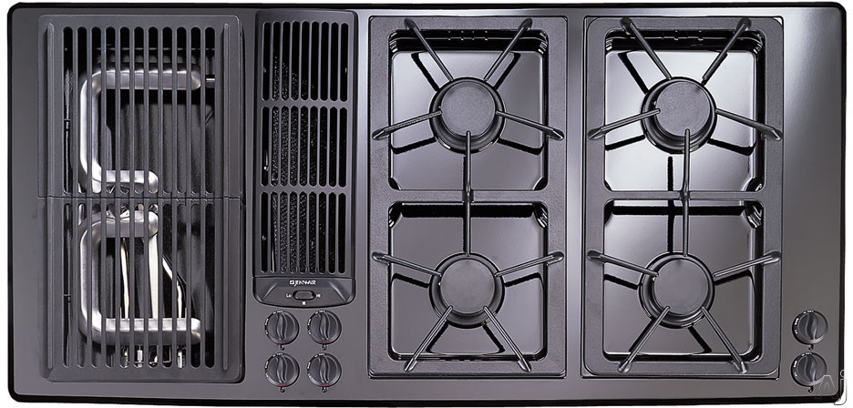 "Jenn Air - Jenn-Air JGD8345AD 45"" Gas Downdraft Cooktop With 2 Two-Burner Modules And Electronic Ignition"