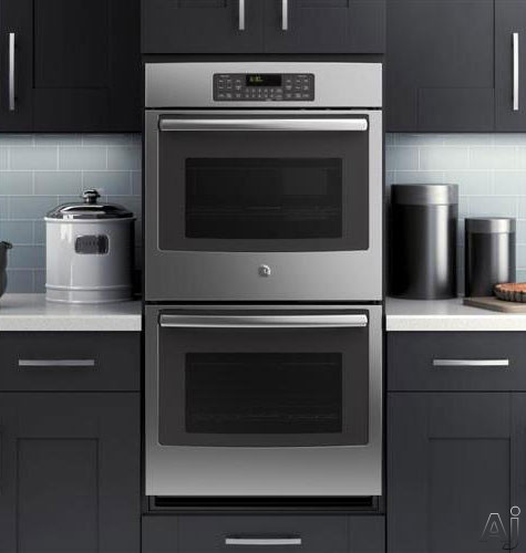 Ge Jk3500sfss 27 Quot Double Electric Wall Oven With 4 3 Cu