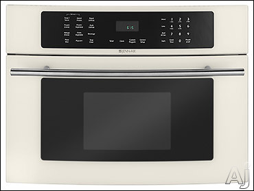 Jenn Air - Jenn-Air JMC8127DDQ 1.5 Cu Ft Floating Glass Built-In Microwave With 1000 Watts Of Power And Ten Power Levels Bisque