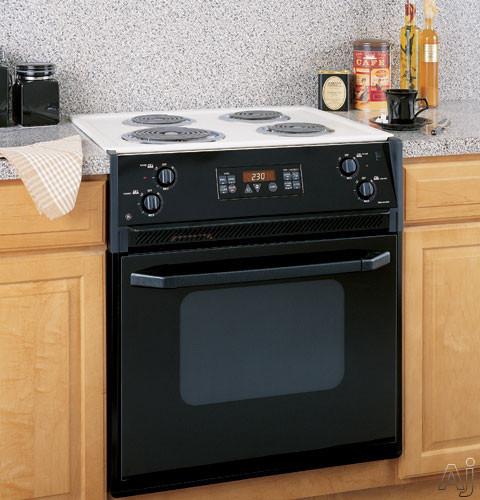 Ge jmp28bdct 27 quot drop in electric range w self clean oven amp coil