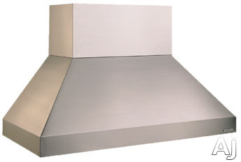 Vent-A-Hood Euroline Pro Series EPTH18 Wall Mount Range Hood with Internal Blower and 2-Level Halogen Lighting