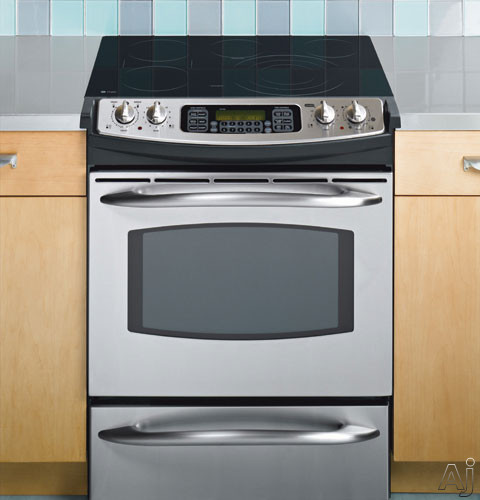 Ge Ps920sfss 30 Quot Slide In Smoothtop Electric Range With 5
