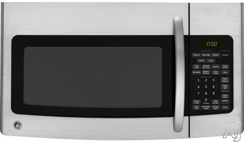 Ge Jvm1752spss 1 7 Cu Ft Over The Range Microwave Oven