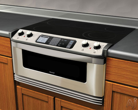 Sharp Kb5121ks 30 Quot Electric Cooktop And Microwave Drawer