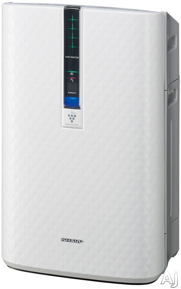 Sharp - Plasmacluster Ion Air Purifier with Humidifier - White KC850U