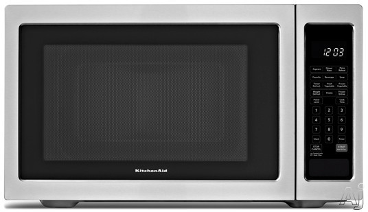 Microwave - KitchenAid KCMS1655BSS 1.6 cu. ft. Countertop Microwave ...