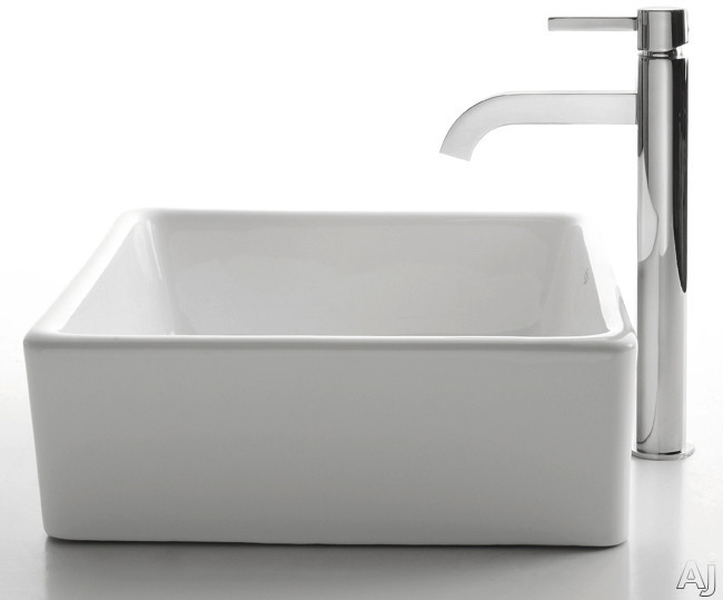 Ramus Faucet with Chrome Finish