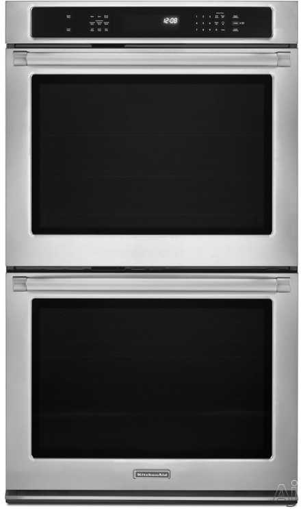 Kitchenaid Kebs209b 30 Quot Double Electric Wall Oven With 5 0