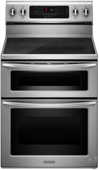 Kitchenaid Kers505x 30 Quot Freestanding Electric Range With 5