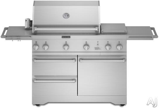 KitchenAid KFRU368TSS 36 LP Gas Grill with 623 sq in  -> Kitchenaid Grill Cover